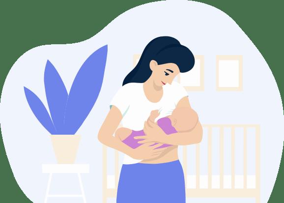 Caring Mom